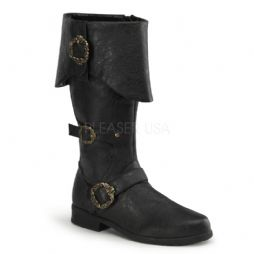 Costume-Mens Carribean Pirate Boots
